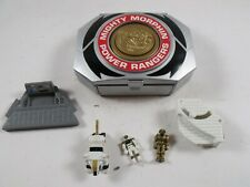 White Ranger Micro Morphin Playset Complete Vintage 1995 Bandai Power Rangers
