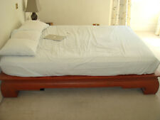 Wooden Platform Bed from Thailand UK King North American Queen USA Canada Wood