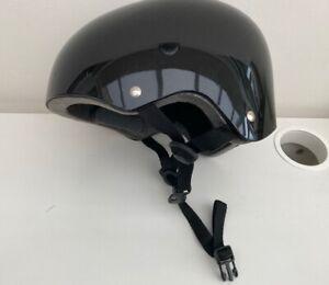 Skateboarder / Bicycle Helmet Black Size S/M 54-58cm