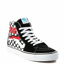 Mens VANS DAVID BOWIE SK8-Hi Black Checkerboard Sneakers 3.5 Mens 5.0 Womens