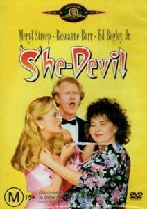 She-Devil- Meryl Streep Roseanne Barr Ed Begley Jr -R4 DVD OOP