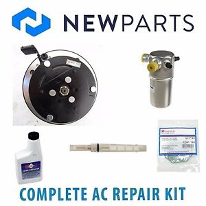 For Buick Roadmaster Chevrolet Caprice NEW A/C Repair Kit w/ Compressor & Clutch