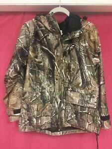 Red Head For Her Camo Hooded Coat/jacket Size Medium