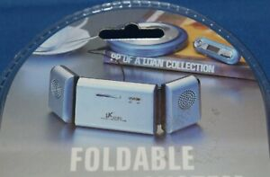 BOEING DX-P118 New Speakers +Amplifier /MP3~AUX~iPod~Foldable~Portable 3.5mm NIB