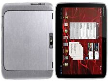 Skinomi Brushed Aluminum Tablet Skin+Screen Film for Motorola DROID XYBOARD 10.1