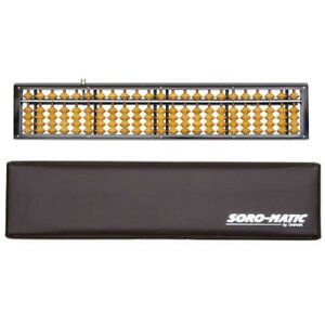 UNSHUDO USM-103 Abacus Soroban 23Digits Birch Ball Beginner Basic Japan Tracking