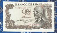 Spain 100 Pesetas 1970 P 152 UNC 7R8185566