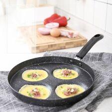 Nonstick Aluminium Alloy Frying Pan 4 Units Skillet Egg Cookware Pot Gas Cooker