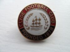 Clyde Football Club Enamel Badge