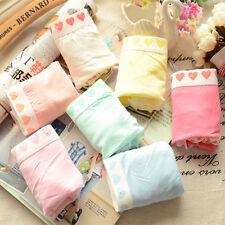 new Women's 6pcs Lady Girl Mix Color Random Love Pants Modal Cotton Underwear