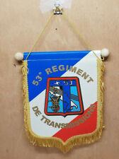Fanion 53e Regiment  de Transmissions militaire armée