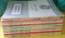 Vtg 15 Vol Set COMMERCIAL TRADES INSTITUTE Automotive Mechanics TRAINING Manuals