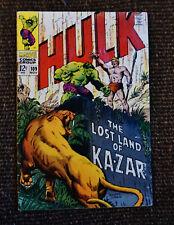 Incredible Hulk #109 (1968 Marvel 1st Series) GD/VG
