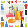 Spirella Plastic Colourful BATHROOM ACCESSORIES SET Lotion Bottle Toothbrush Cup