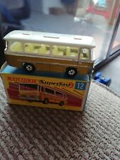 MATCHBOX SUPERFAST No12 SETRA COACH ~ BOXED Hand painted tail lights