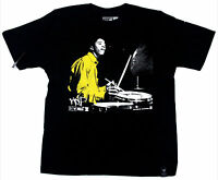 KicDrum Products Fusion black with yellow t-shirt -BNWT- Tony Williams jazz