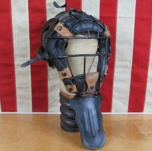 Vintage Rawlings Baseball Catchers Mask Helmet Face Guard Umpire BCH Size Medium