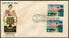 1960 Philippines COMMEMORATING THE WORLD REFUGEE YEAR First Day Cover - B