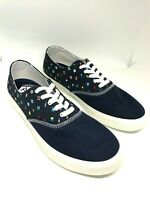 Sperry Top-Sider Men Captain's CVO Prep Flags Sneaker, Navy, 11 M Nautical Flags