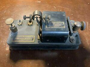 Antique Ghegan Relay J.H. Bunnell Telegraph