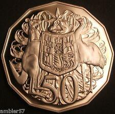 **1987 Australian 50 cent  Proof **