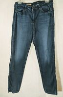 Adriano Goldschmied Womens The Prima Mid Rise Cigarette Dark Wash Jeans Size 31R