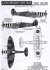 COLORADO DECALS 48088 1:48 International Supermarine Spitfire Part 7