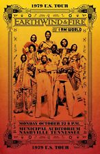 Earth, Wind And Fire Concert Poster