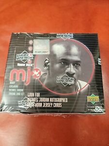 1998 Upper Deck MJX **Sealed Hobby Box** 24 Packs Auto MJ Jordan Memorabilia