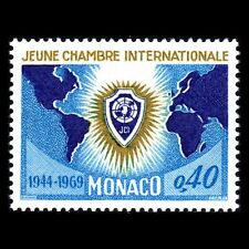 Monaco 1969 - 25th Anniversary of Junior Chamber of Commerce Map - Sc 749 MNH