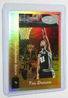 2000-01 Fleer NBA Hoops Hot Prospects Tim Duncan #5 San Antonio Spurs Card