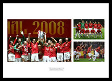 Manchester United 2008 Champions League Final Team Photo Memorabilia (MUMU08)