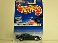 HOT WHEELS 1997 CHEVROLET CHEVY CORVETTE FIRST EDITIONS NEW IN 1997 PACKAGE