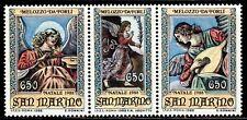 SELLOS NAVIDAD SAN MARINO 1988 ANGELES MELOZZO DA FORLI 1198/0 3v.