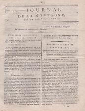Révolution rare Journal de la Montagne 1793 Louis 17 le louveteau