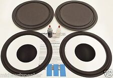 "ESS AMT-1C Speaker Repair Refoam Kit 12"" Passive Radiator & 12"" Woofer w/ Caps!"