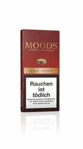 5 x Moods Gold Filter Zigarillos Schachtel á 5 Stück zu 2,00
