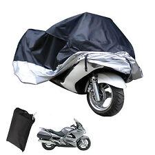Motorradabdeckung Motorrad Garage Abdeckplane Wasserdicht UV 245×105×125cm XL