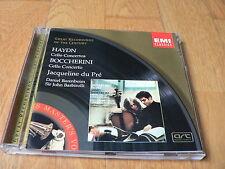 Jacqueline Du Pre - Haydn / Boccherini : Cello Concertos - Barenboim - CDM EMI