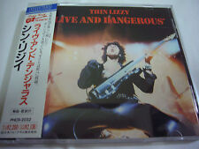 THIN LIZZY-Live And Dangerous JAPAN 1st.Press w/OBI AC/DC Motorhead Gary Moore