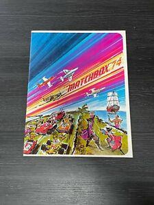 "MATCHBOX ""74 Catalog"