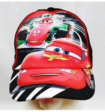 NWT Disney Cars Lightin McQueen Baseball Cap Child Size Licensed Red Stripe