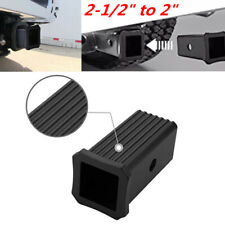 "2-1/2"" to 2"" Trailer Hitch Receiver Adapter Reducer Sleeve fit for Ford GMC RV"