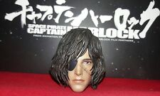 1/6 Hot Toys Space Captain Harlock MMS222 Head Sculpt *US Seller*