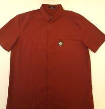 2695c1b160 Nuevo anuncioVersus Versace Camisa manga corta de cabeza de Leones EU56  Reino Unido XXXL en Vino Rojo BU20226