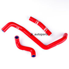 2000-2007 Can-Am Bombardier DS650 DS 650 Silicone Radiator Cooling Hose Kit Red
