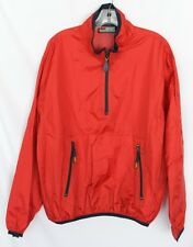 Men's Structure Sport Red Jacket Windbreaker Pullover Size S    EUC