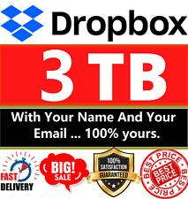 Upgrad Dropbox account to professional version 3TB✔️Free Shipping✔100% effective