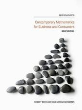Contemporary Mathematics for Business and Consumers, Brief Edition, George Berge