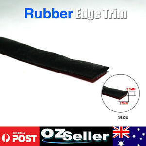 Weather Strip Seal Trim EPDM Rubber Car Auto Window Fornt & Rear Windshield 4Ms